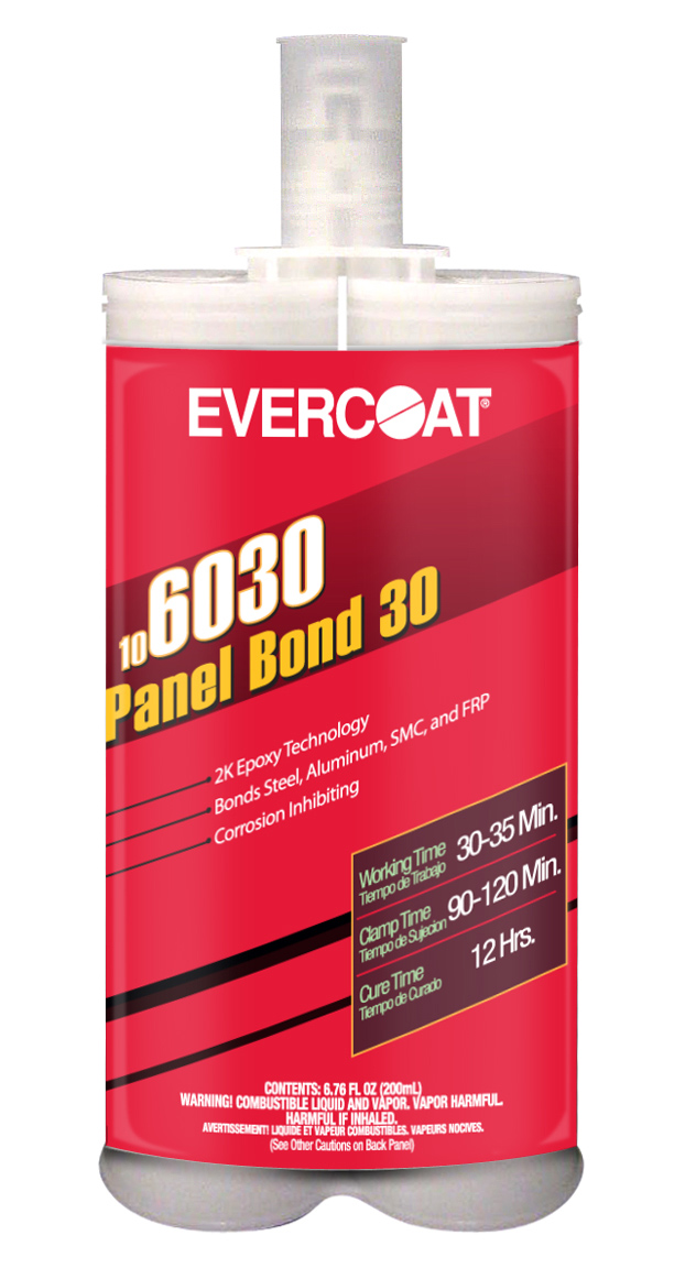 Panel Bond-30 is a two-component epoxy adhesive used for replacing various body panels.